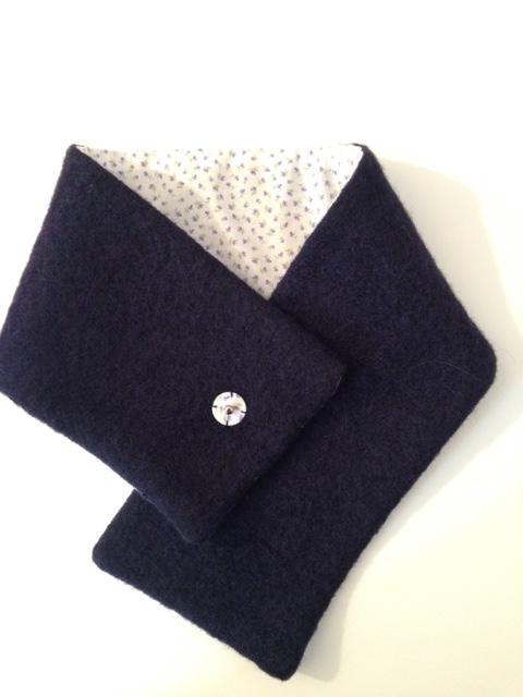Sciarpina in lana cotta