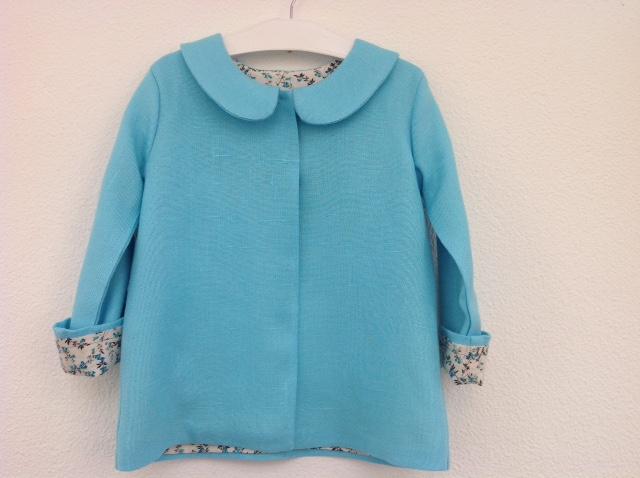 """Nelle scorse settimane ho confezionato una giacchina primaverile per Emma   ho sperimentato il modello Giacca in Gabardine di """"Abiti fantasia per  bambini"""" 64064584ebd"""